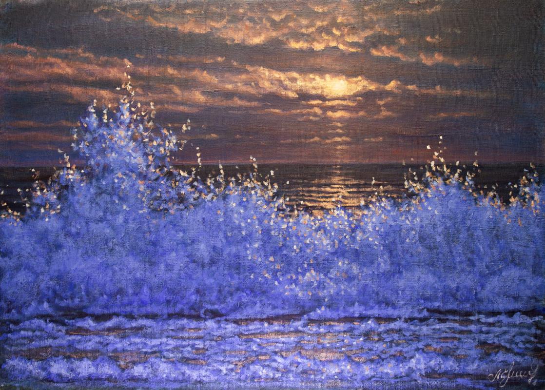Valery Levchenko. № 612  Морской пейзаж.