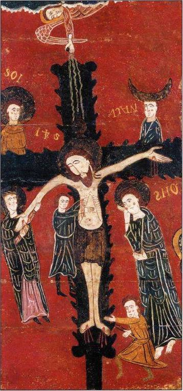 Masterpieces of unknown artists. Descent from the Cross