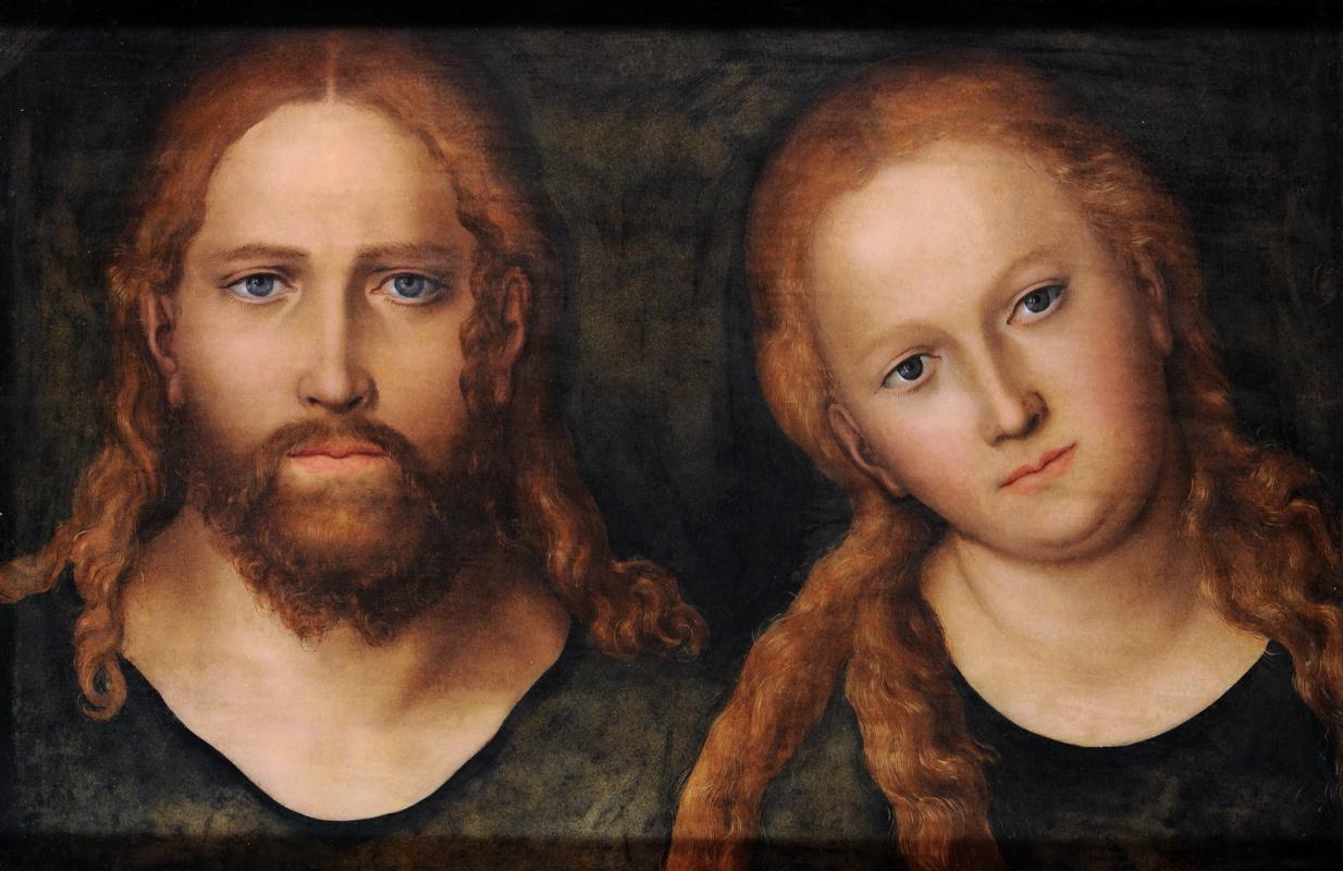 Лукас Кранах Старший. Христос и Богоматерь