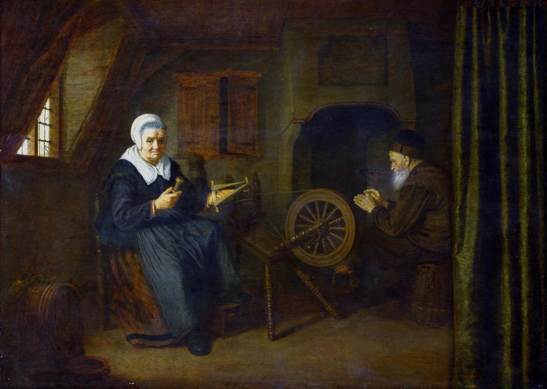 Абрахам де Пап. Тобит и Анна