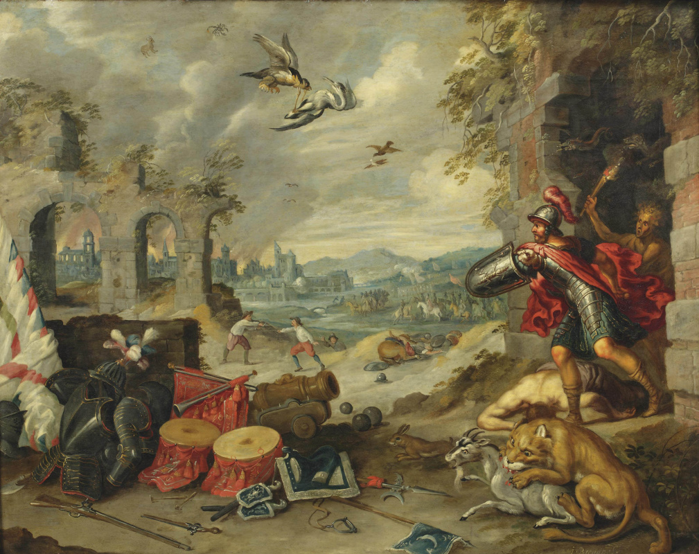 Jan Brueghel the Younger. Allegory of War