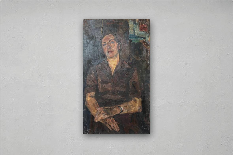 Yuri Alexandrovich Savinov. Portrait of Rosa's wife