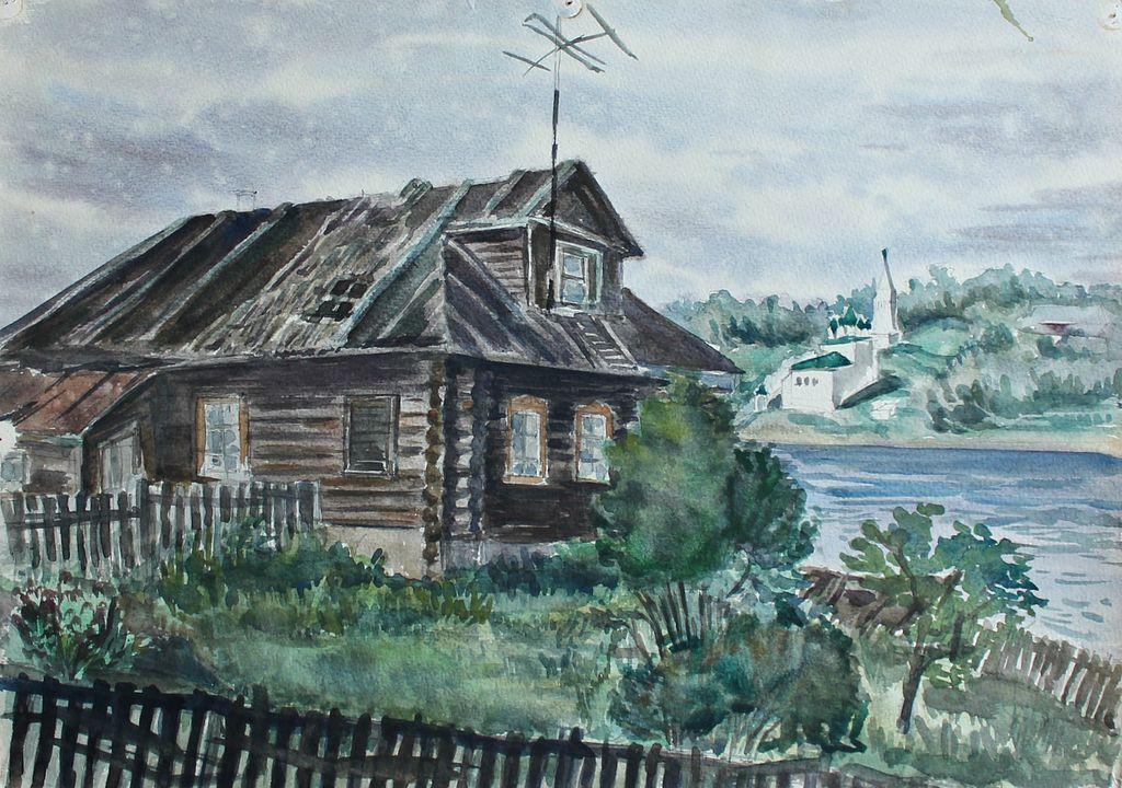 Eduard Stepanovich Kochergin. Country house