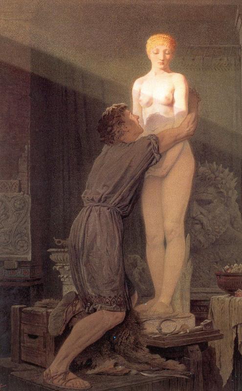 Джон Тенниел. Пигмалион и статуя