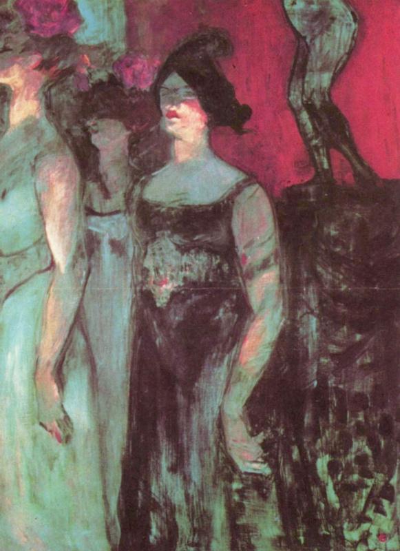 Henri de Toulouse-Lautrec. Messalina