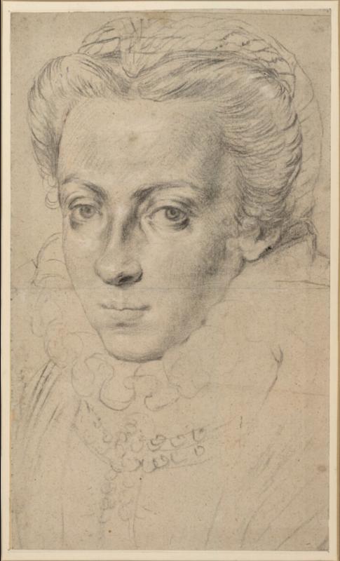 Адриан Томас Кей. Портрет женщины