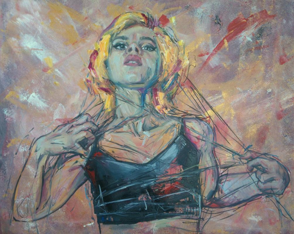 Erica Fox. Deep formlessness of sticky color.