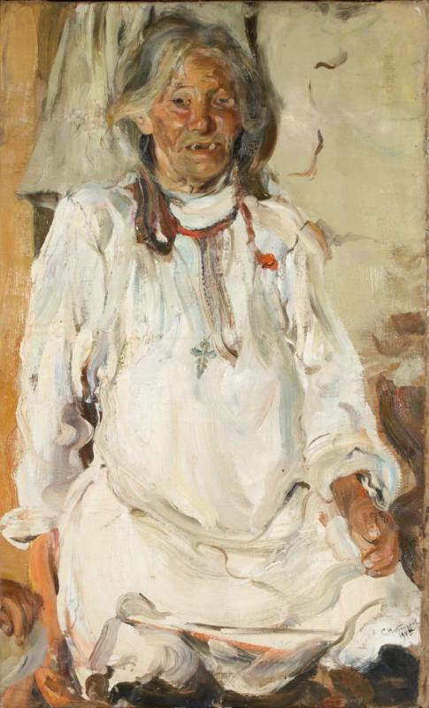 Семен Гавриилович Никифоров. Старуха-черемиска
