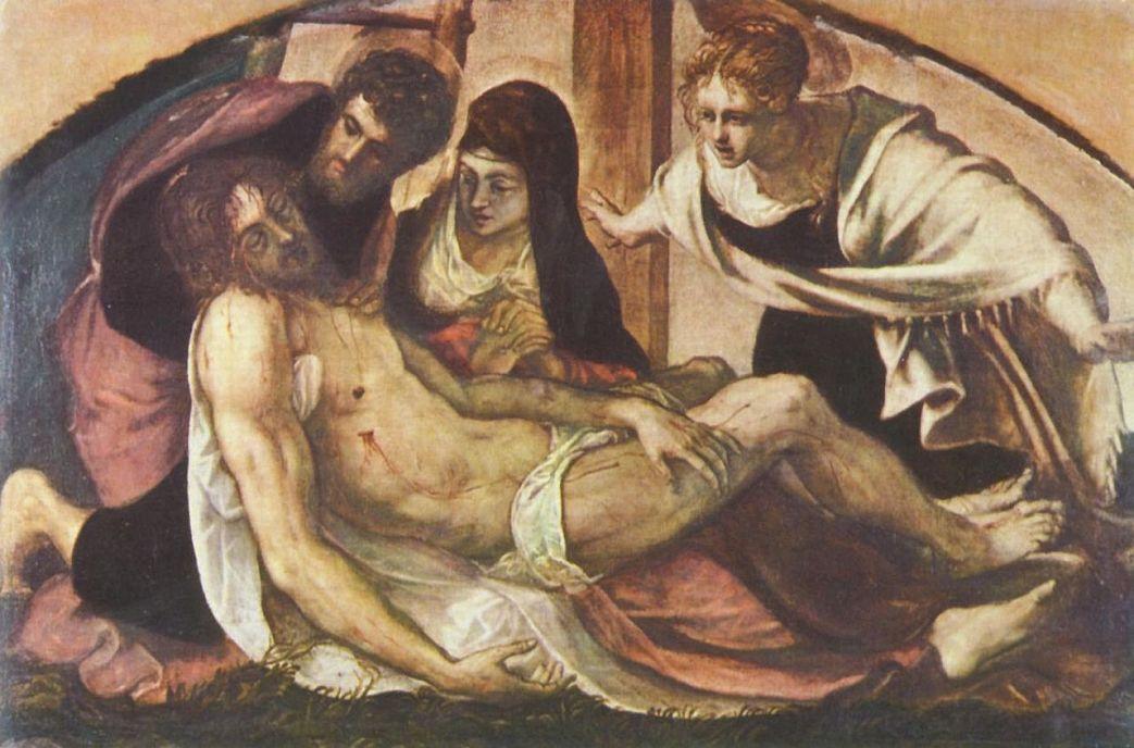 Якопо Тинторетто. Оплакивание Христа