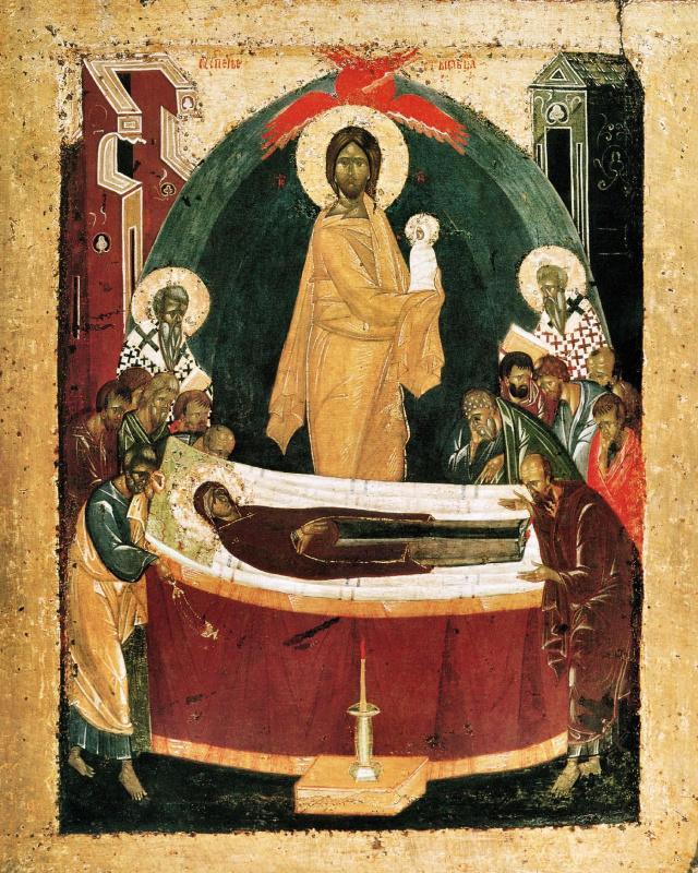 Theophanes Greek. Assumption Of The Virgin