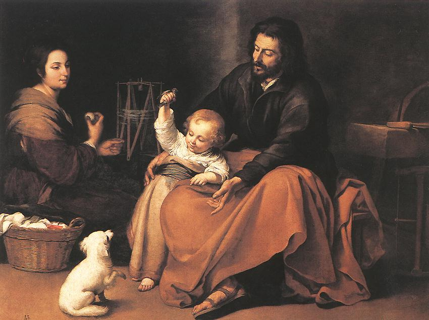 Bartolomé Esteban Murillo. Holy family