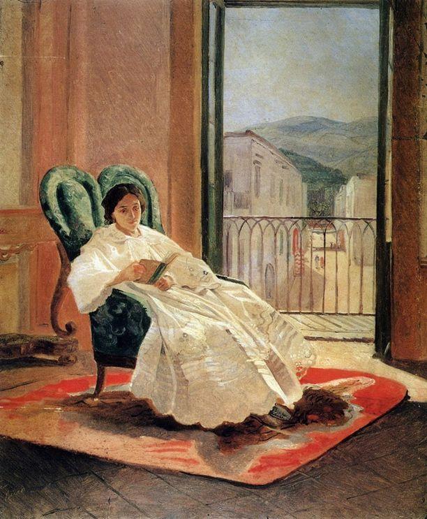 Николай Николаевич Ге. Портрет жены художника Анны Петровны