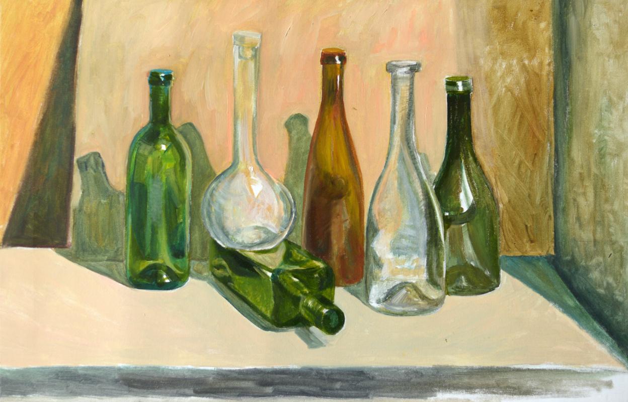 Marianna Maslova. Turn. Bottle