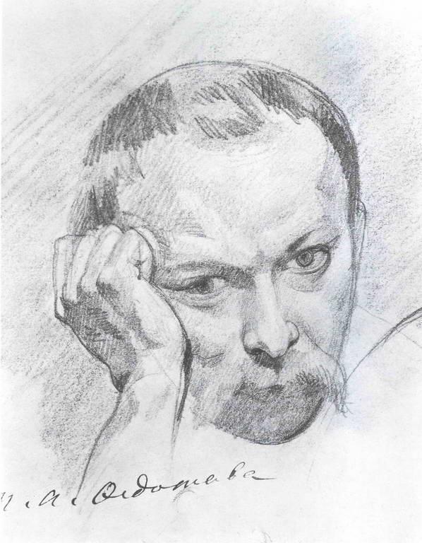 Pavel Andreevich Fedotov. Self-portrait