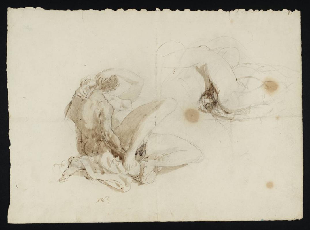 Joseph Mallord William Turner. The sketches erotic figures