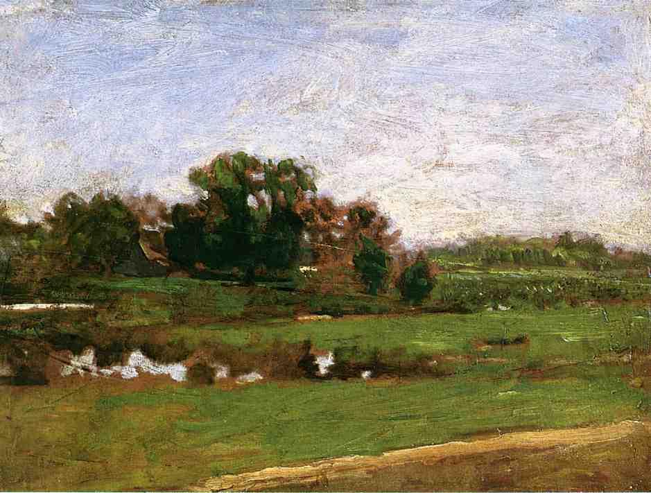 Thomas Eakins. Landscape