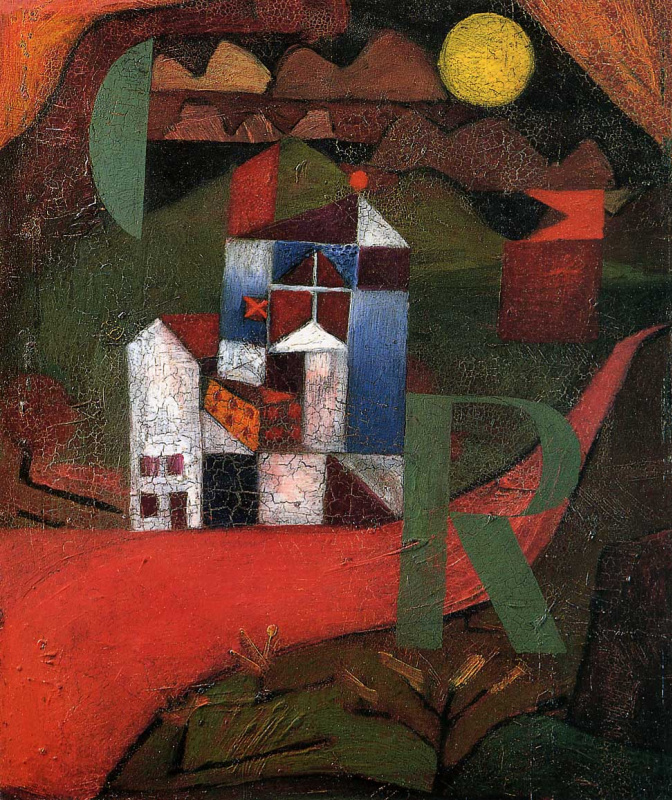 Paul Klee. Villa R