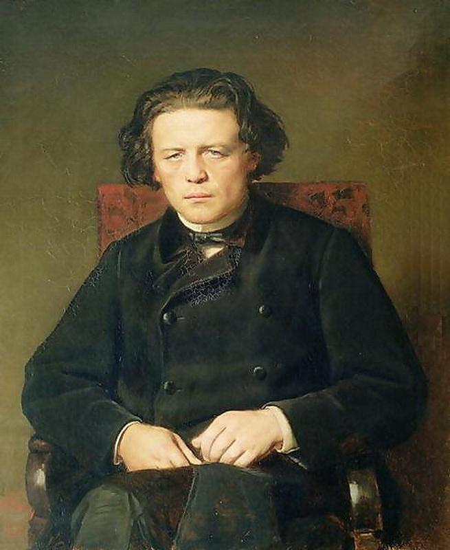 Василий Григорьевич Перов. Портрет Антона Григорьевича Рубинштейна