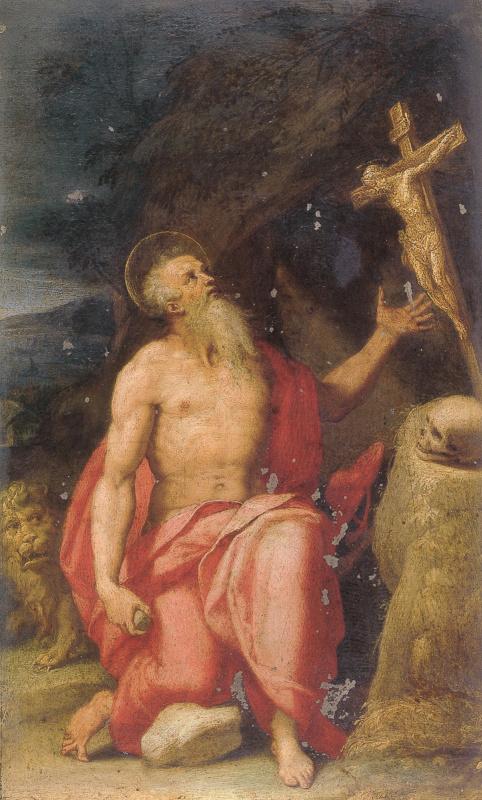 Лоренцо Сабатини. Святой Иероним в пустыне