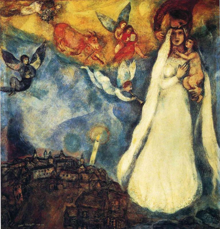 Marc Chagall. Rural Madonna