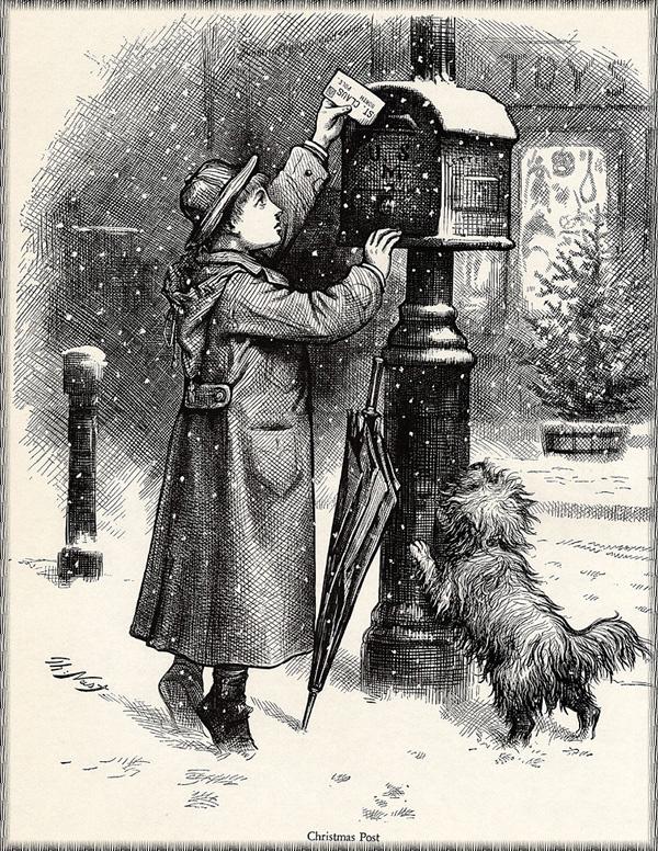 Томас Наст. 15 Рождественская почта