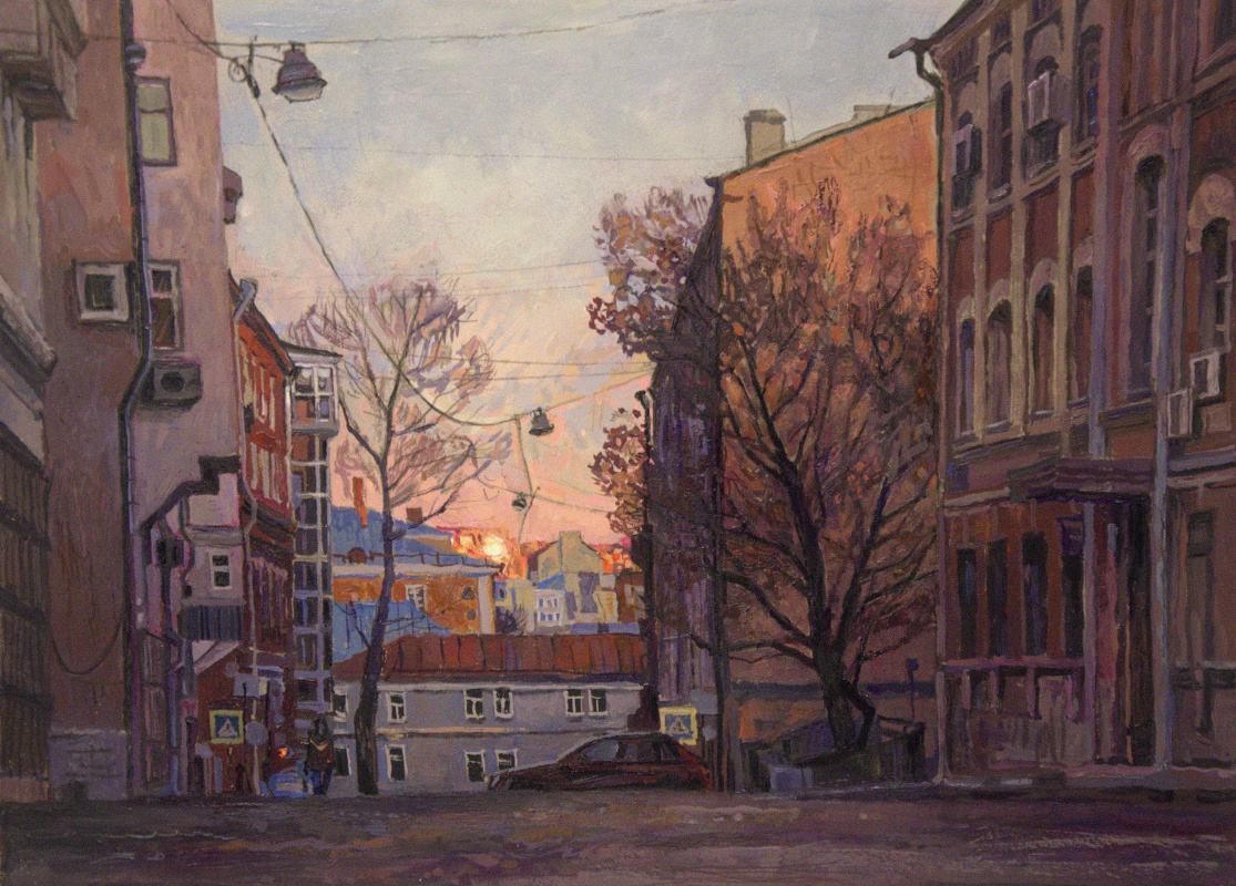 Oleg Borisovich Zakharov. 2nd Kolobovsky Lane.