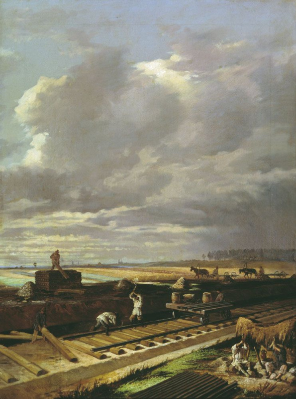 Vasily Vladimirovich Pukirev. The construction of the railway