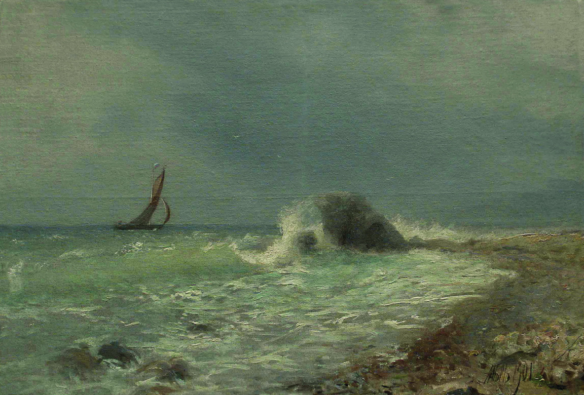 Lev Feliksovich Lagorio. Surf