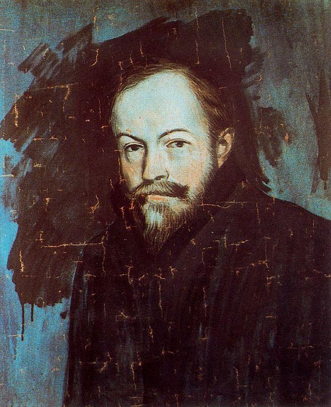 Пабло Пикассо. Портрет Себастьяна Жунер-Видала