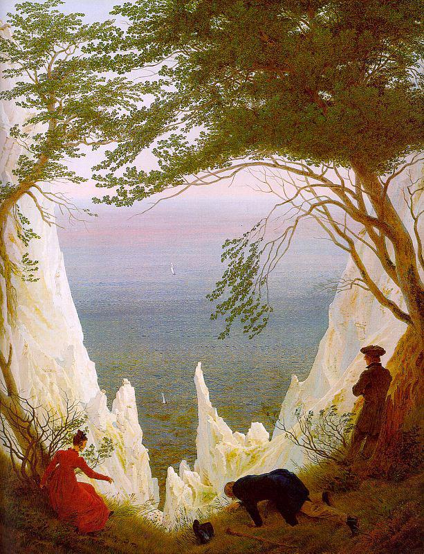 Каспар Давид Фридрих. Меловые скалы на Рюгене