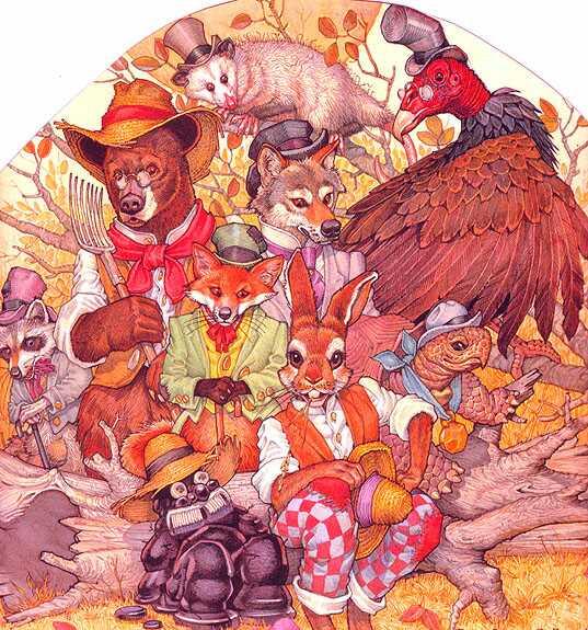 Дон Дэйли. Иллюстрация к сказке Братец Кролик 003