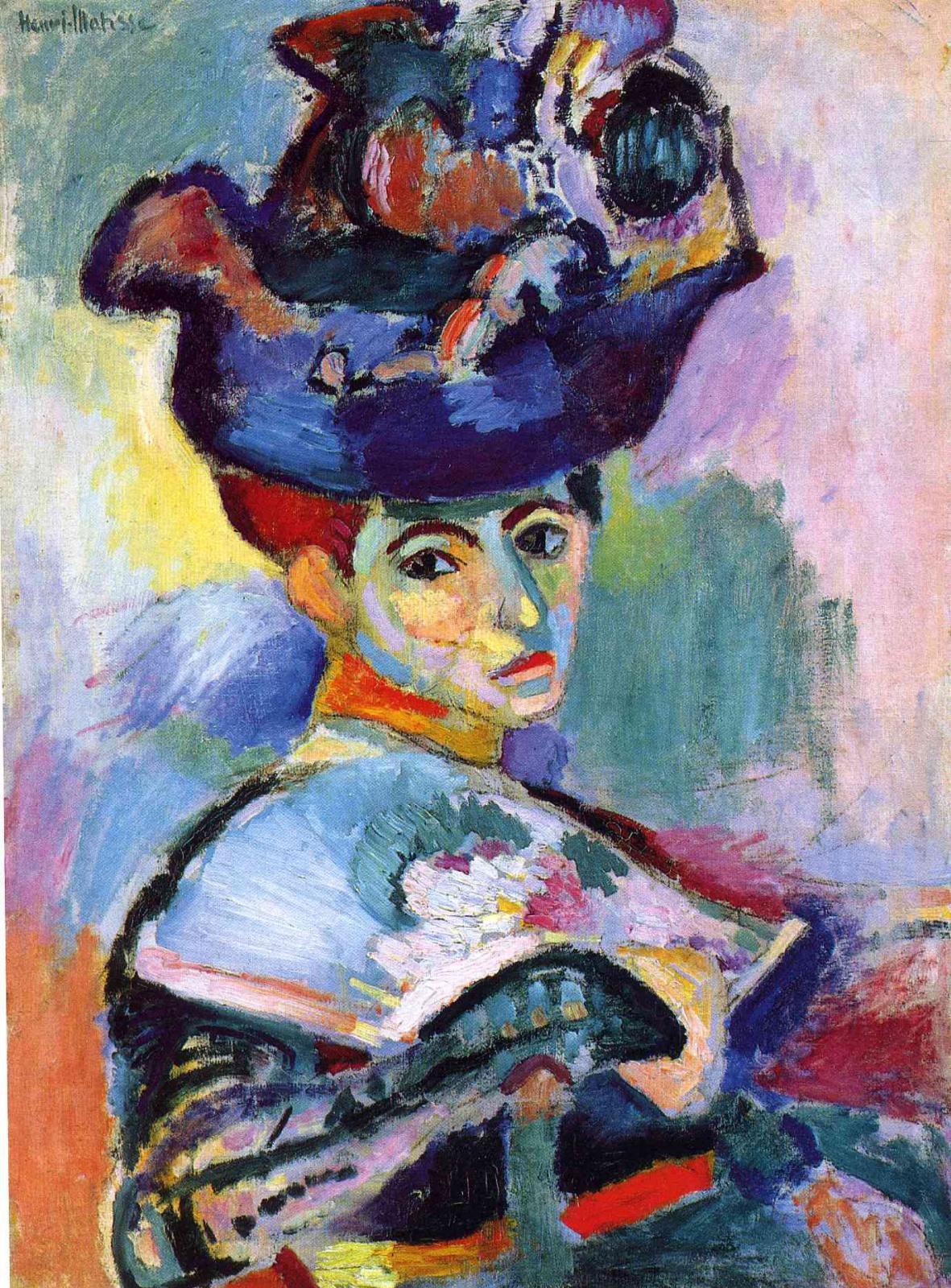 Анри Матисс. Женщина в шляпе