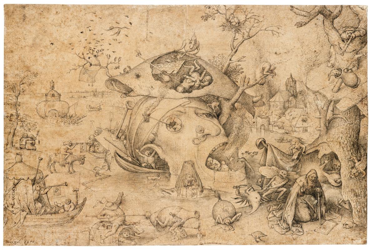 Pieter Bruegel The Elder. The Temptation of Saint Anthony
