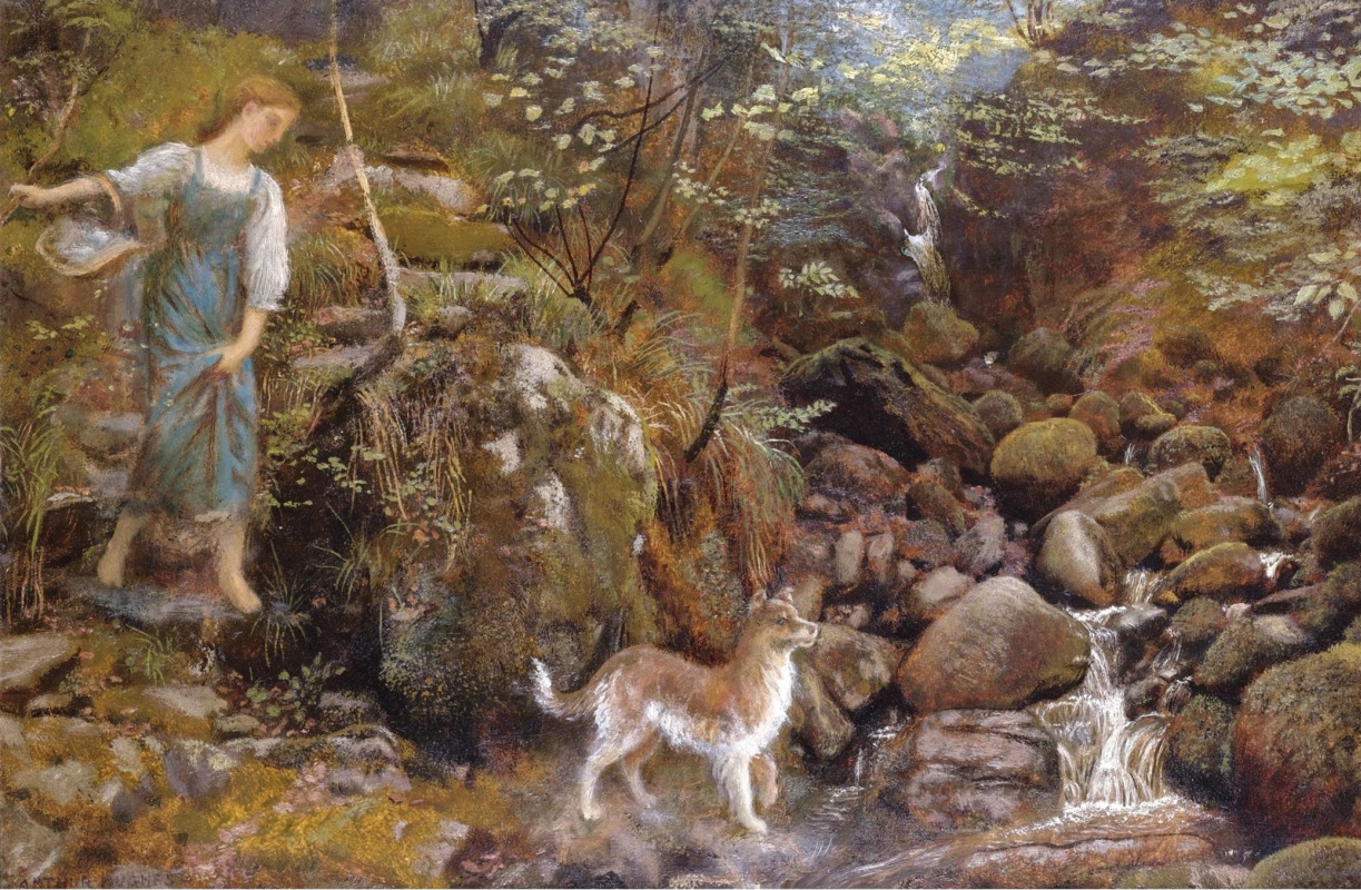 Arthur Hughes. Glen Air