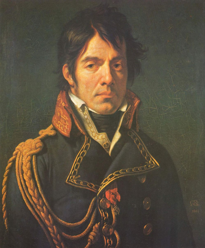 Анне-Луис Жироде де Руси Триозон. Портрет барона Ларре, первого хирурга египетской военной компании