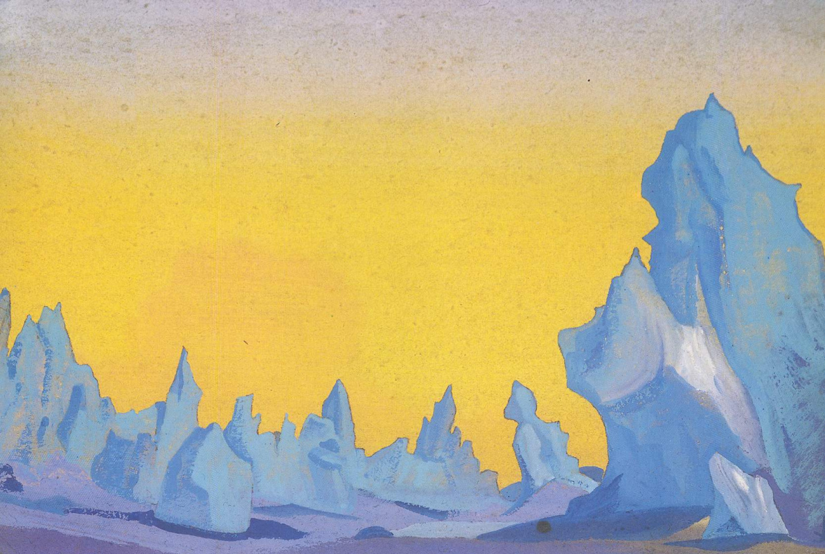 Nicholas Roerich. The Ice Of The Himalaya