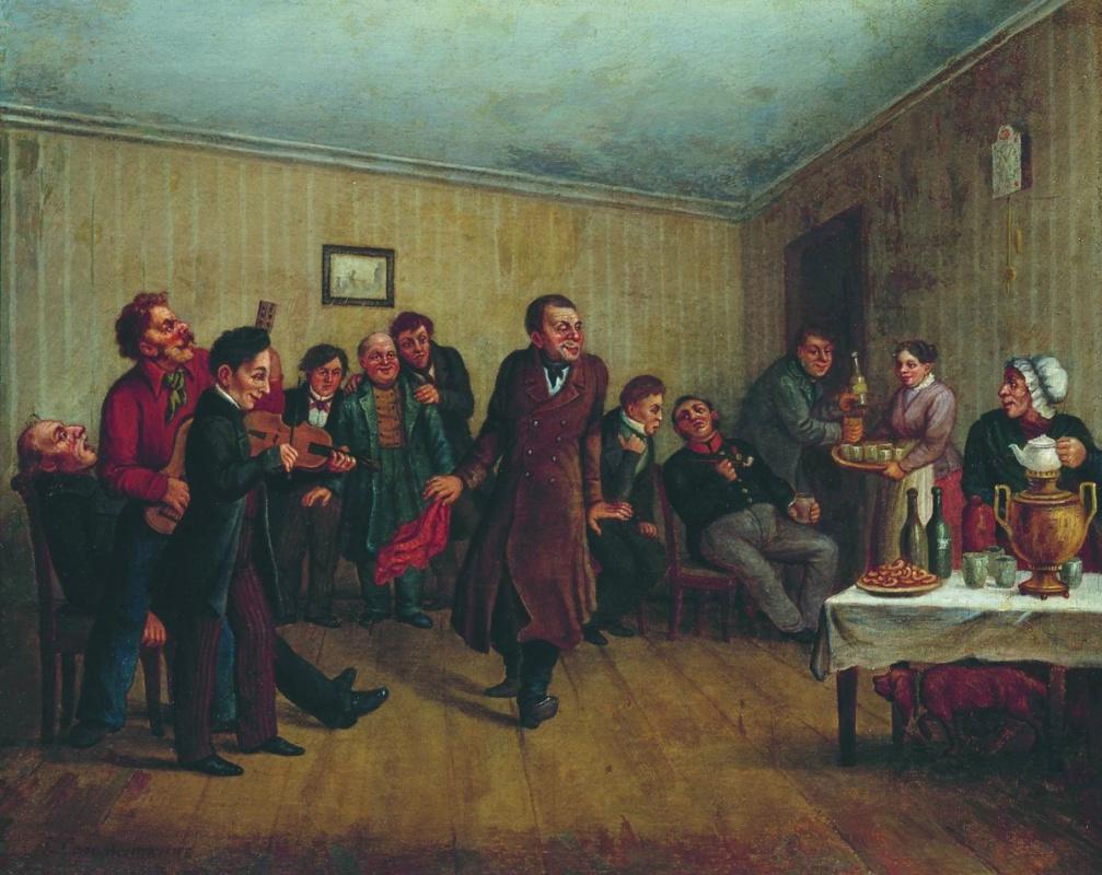 Leonid Ivanovich Solomatkin. Party clerk