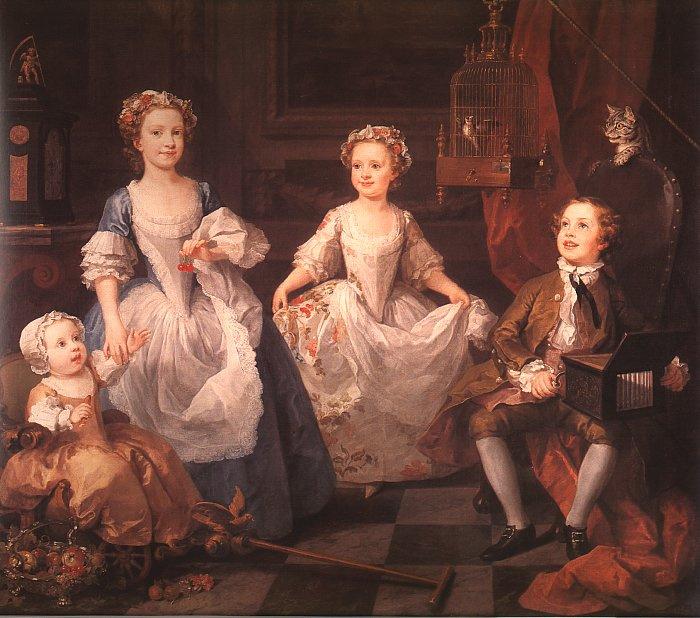 William Hogarth. Children Graham