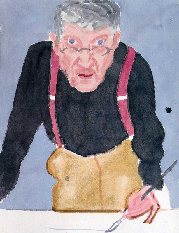 Дэвид Хокни. Портрет 30