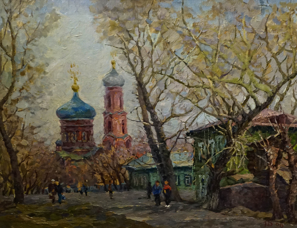 Alexey Alekseevich Drilev. Church of the Intercession