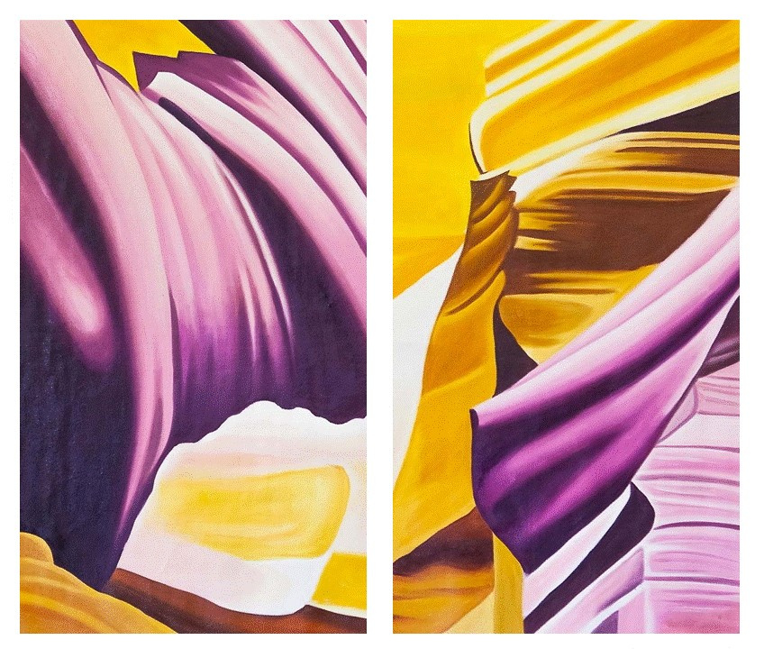 (no name). In the rhythm of the dance ... Diptych
