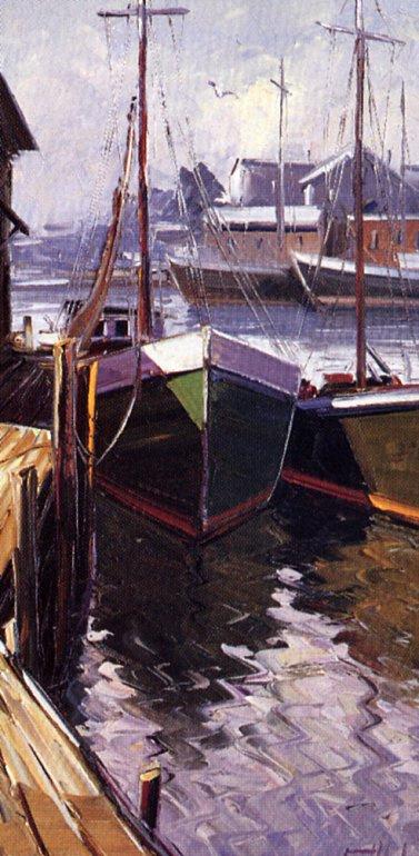 Рено Леклерк. Лодки Глочестера