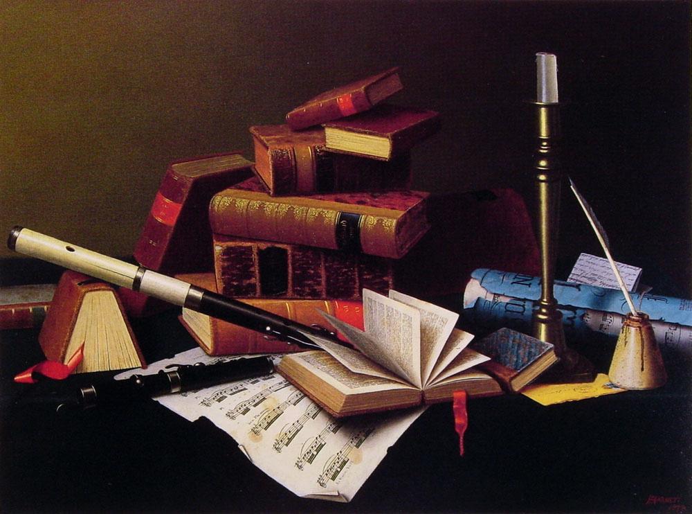 Уильям Майкл Харнетт. Музыка и литература