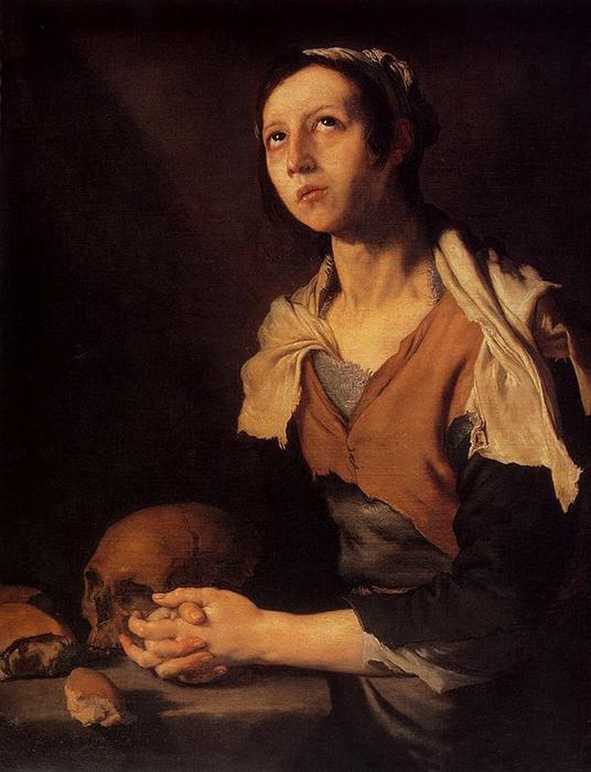 Jose de Ribera. SV. Mary Of Egypt
