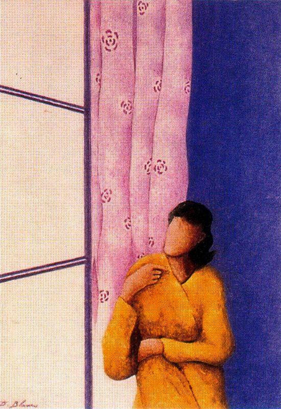 Дионисио Бланко. Девушка у окна