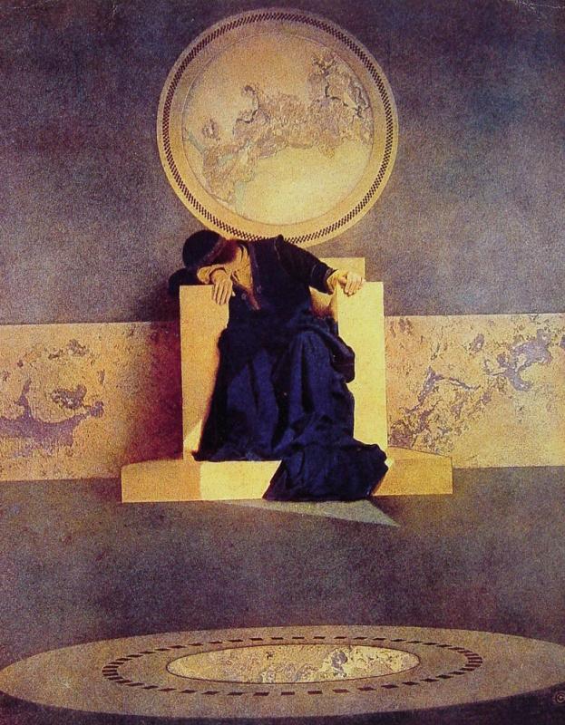 Максфилд Пэрриш. Арабские сказки. Молодой король Черных островов