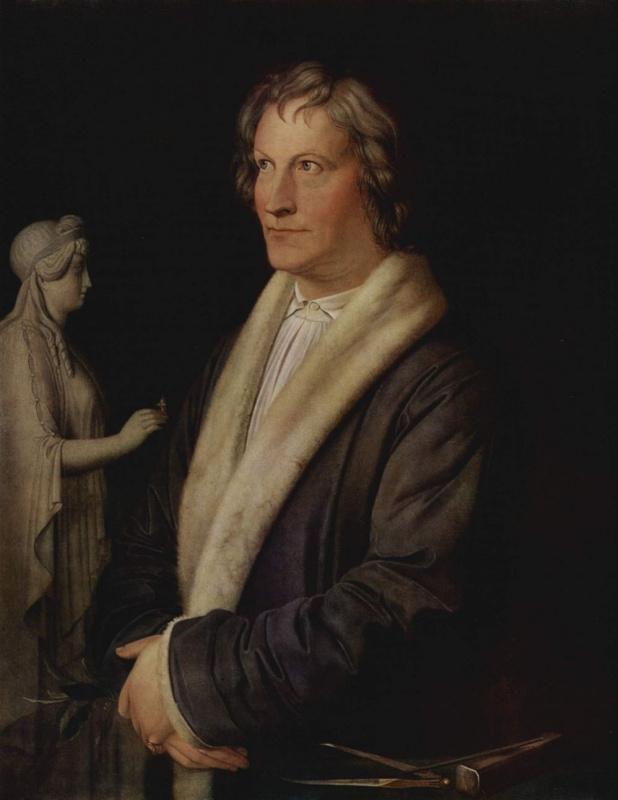 Портрет датского скульптора Бертеля Торвальдсена