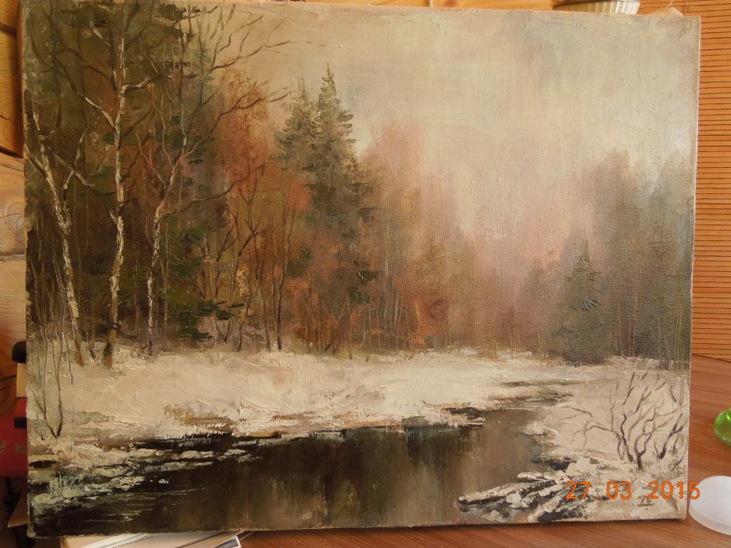 Ekaterina Valerievna Derzhavina. Creek
