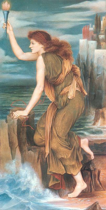 Эвелин де Морган. Герой и Леандер (фрагмент)