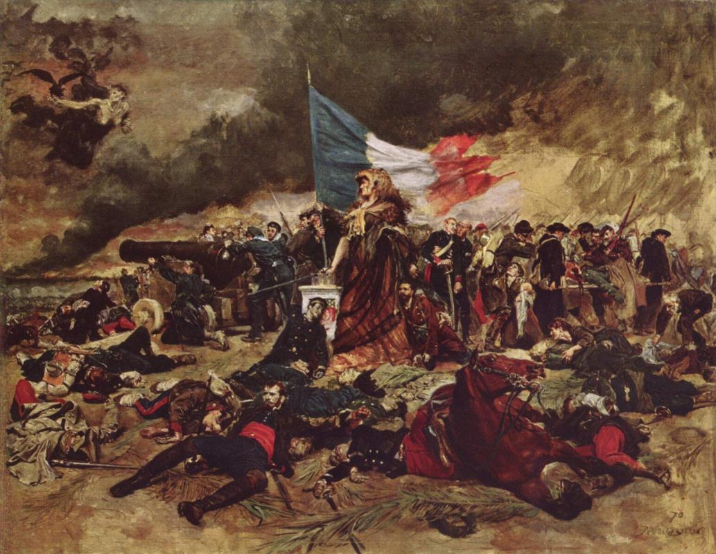 Эрнест Мейсонье. Осада Парижа